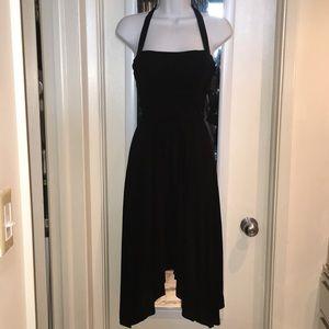 BCBGMAXAZRIA Black summer dress szS